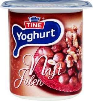 Prøv også TINE Yoghurt Nyt Julen Hasselnøtt/Valnøtt.