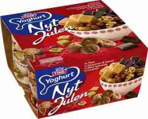 Prøv også TINE Yoghurt Nyt Julen Mørk Sjokolade.