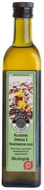 Prøv også Nutridan Klassisk Økologisk høykonsentrert Omega-3 olje.