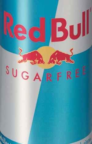 Prøv også Red Bull sukkerfri.