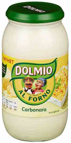 Prøv også Dolmio al forno.