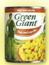 Prøv også Green Giant Mais med Paprika.