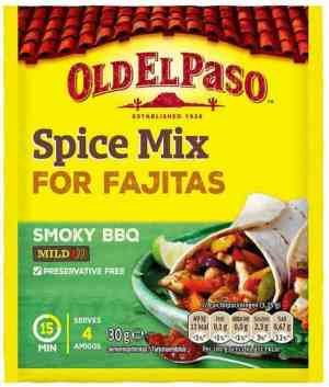 Prøv også Old el paso Fajita Spice Mix.