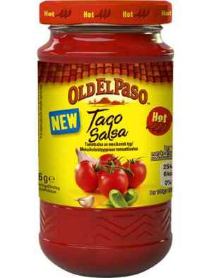 Prøv også Old El Paso Taco Salsa Hot.