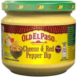 Prøv også Old El Paso Cheese & Red Pepper Dip.