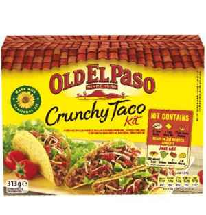 Prøv også Old El Paso Taco Dinner Kit.