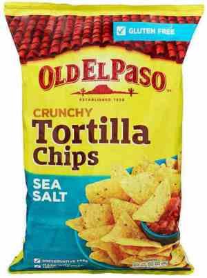 Prøv også Old El Paso Tortillachips Salted.