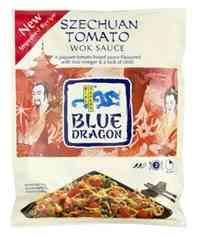 Prøv også Blue Dragon Woksaus Szechuan Tomato.