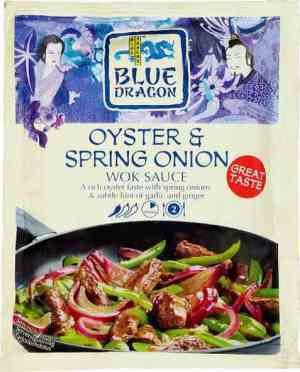 Les mer om Blue Dragon Woksaus Oyster & Spring Onion hos oss.