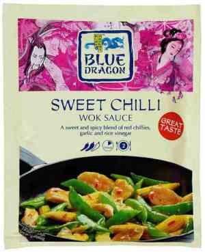 Prøv også Blue Dragon Woksaus sweet Chili.