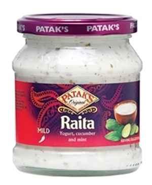Prøv også Pataks Raita.