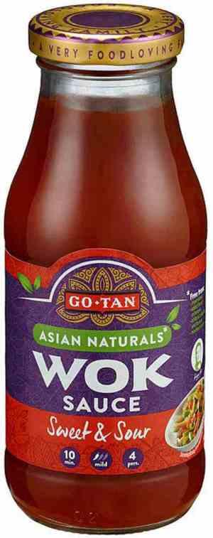 Les mer om Go-tan Woksaus Sweet and Sour hos oss.