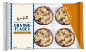 Prøv også Karen Volf Orange Flakes.