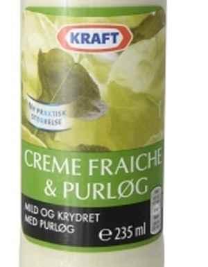Prøv også Kraft Creme Fraiche dressing.