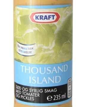 Prøv også Kraft Thousand Island dressing.