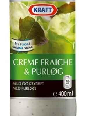 Prøv også Kraft Classic Creme Fraiche med purre.