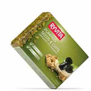 Prøv også Ryvita gresskarfrø.