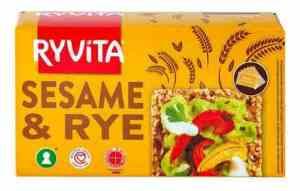 Les mer om Ryvita Sesam hos oss.