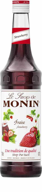 Prøv også Monin Jordbær sirup.