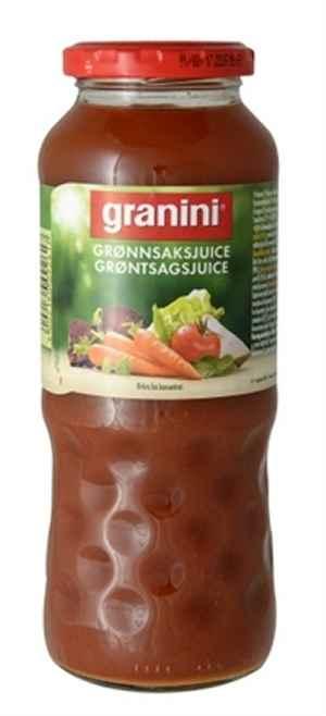 Prøv også Granini grønnsaksjuice.