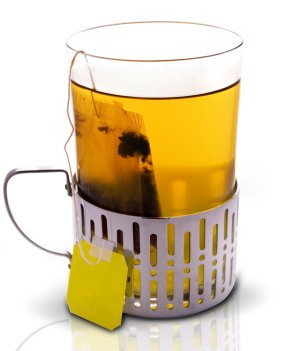 Prøv også Te, urtete tilberedt.
