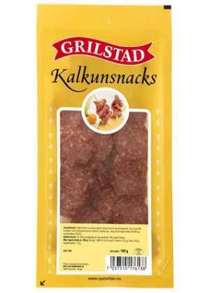 Prøv også Grilstad kalkunsnacks.