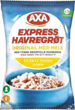 Les mer om Axa Bj�rn Havregr�t med melk hos oss.