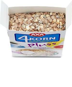 Prøv også Axa 4-Korn pluss.
