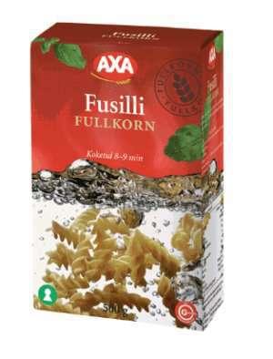 Prøv også AXA Fusilli fullkorn.