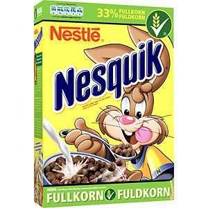 Prøv også Nestle nesquick frokostblanding.