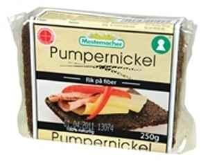 Prøv også Mestemacher pumpernickel.