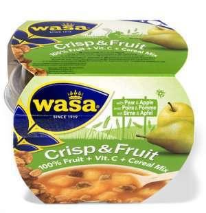 Prøv også Wasa Crisp & Fruit eple og pære.