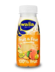 Prøv også Wasa Fruit & Fruit fersken, drue og aprikos.