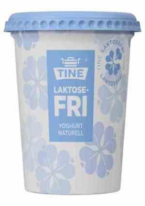 Prøv også Tine laktosefri yoghurt naturell.