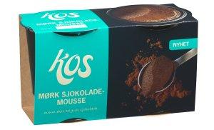 Prøv også KOS Mørk sjokolademousse.