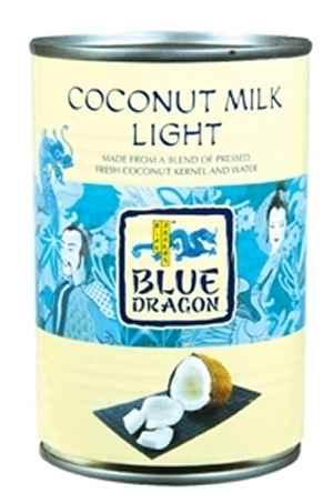 Prøv også Blue Dragon kokosmelk lett.