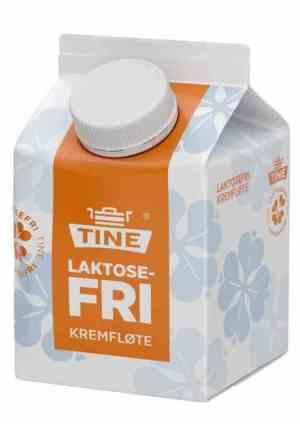 Prøv også Tine laktosefri kremfløte.