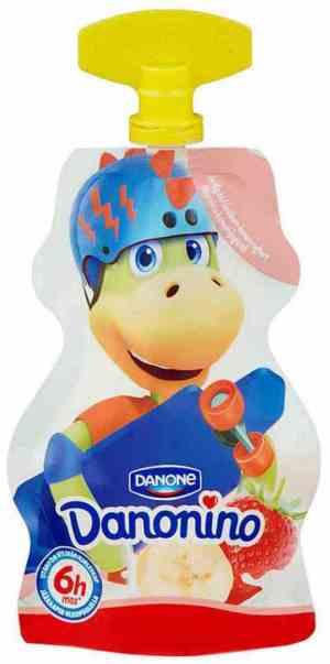 Prøv også Danonino Duo Jordbær-Banan.
