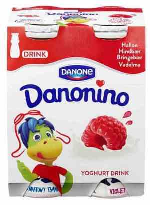 Prøv også Danonino XXL Jordbær-Bringebær.