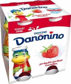 Prøv også Danonino Drikkeyoghurt Jordbær.