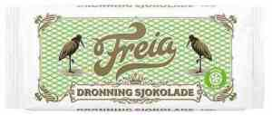 Prøv også Freia dronningsjokolade.