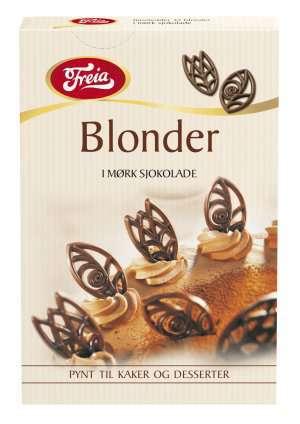 Prøv også Freia sjokoladedekor blonder.