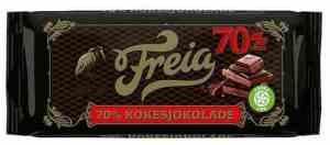Prøv også Freia mørk kokesjokolade.