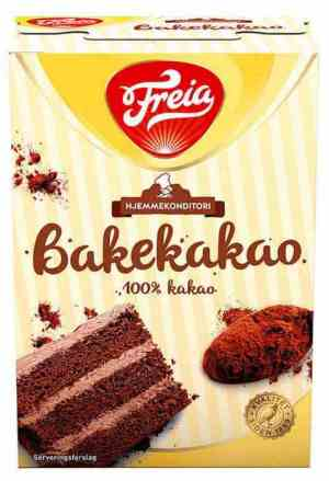Prøv også Freia regia bakekakao.