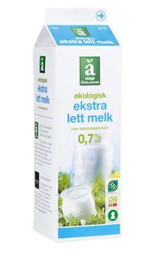 Prøv også Coop Änglamark Økologisk ekstra lettmelk.