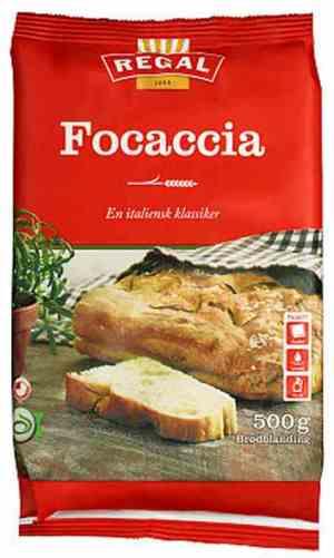 Prøv også Regal Focaccia.