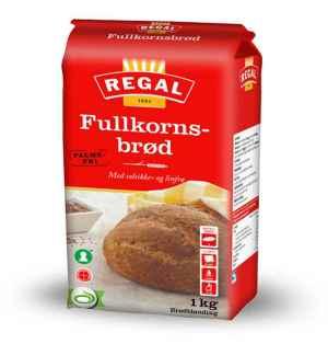 Prøv også Regal Fullkornsbrød.