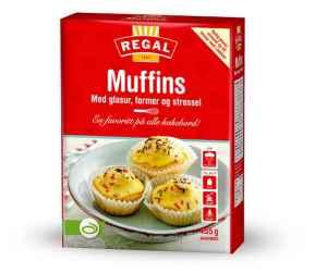 Prøv også Regal muffins.