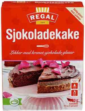 Prøv også Regal sjokoladekake.