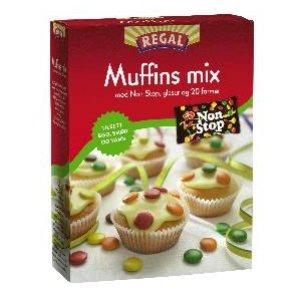 Prøv også Regal Muffins mix med Non Stop.